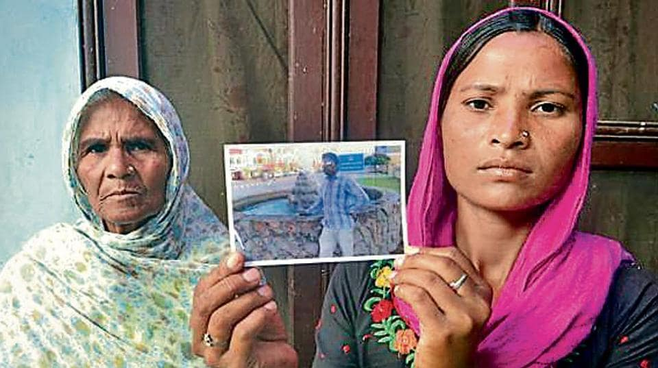 Missing youth in Iraq,DNA tests,39 Indian youth missing