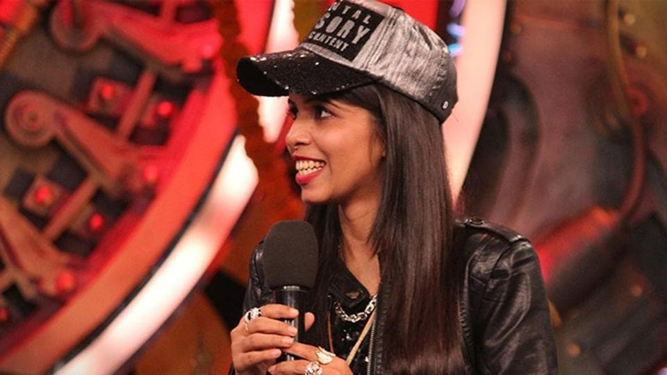 Dhinchak Pooja is the first wild card entry this year.