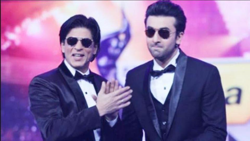 SRK and Ranbir share a good relationship.