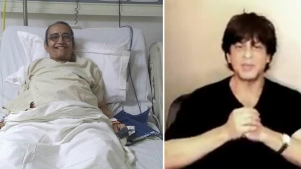 Shah Rukh Khan,Shah Ruck Khan Aruna,#SRKmeets Aruna