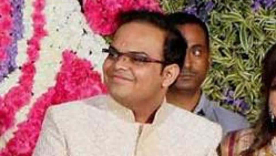 File photo of BJP president Amit Shah's son Jay Shah.