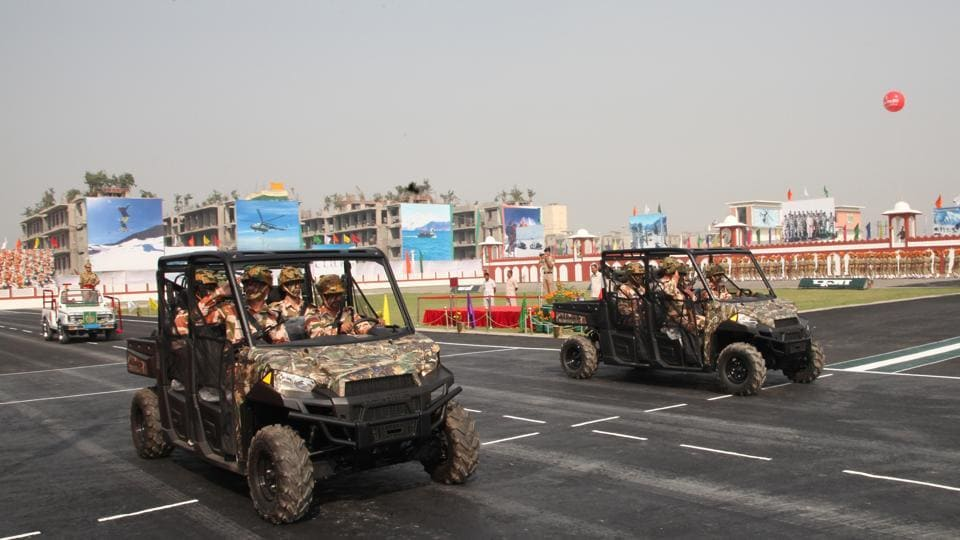 Exclusive mechanized column of ITBP to be seen at 56th Raising Day of the Force for the first time.