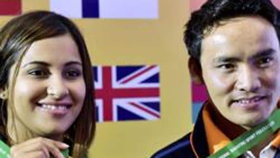 Heena Sindhu, Jitu Rai give India golden start