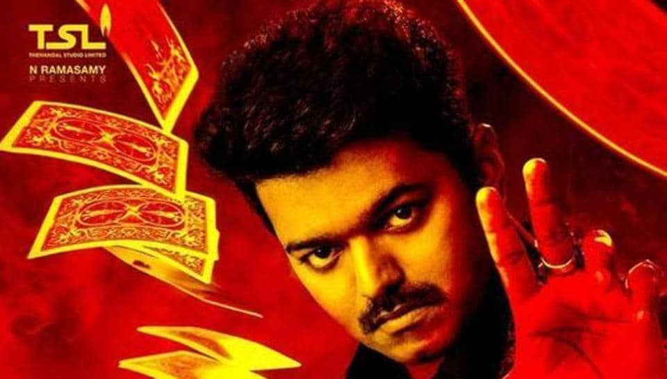 Vijay stars in Mersal as the lead actor.