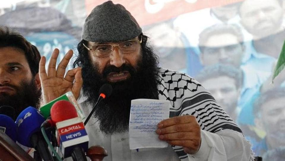 Syed Salahuddin,Hizbul Mujahideen,Pakistan