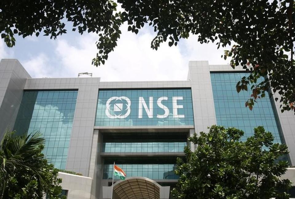 NSE building is seen in Mumbai, India, July 10, 2017.