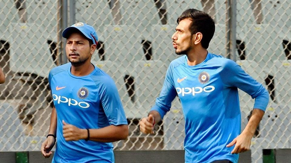 Yuzvendra Chahal picked up only one wicket while Kuldeep Yadav went wicketless as they struggled in the Wankhede ODI against New Zealand.