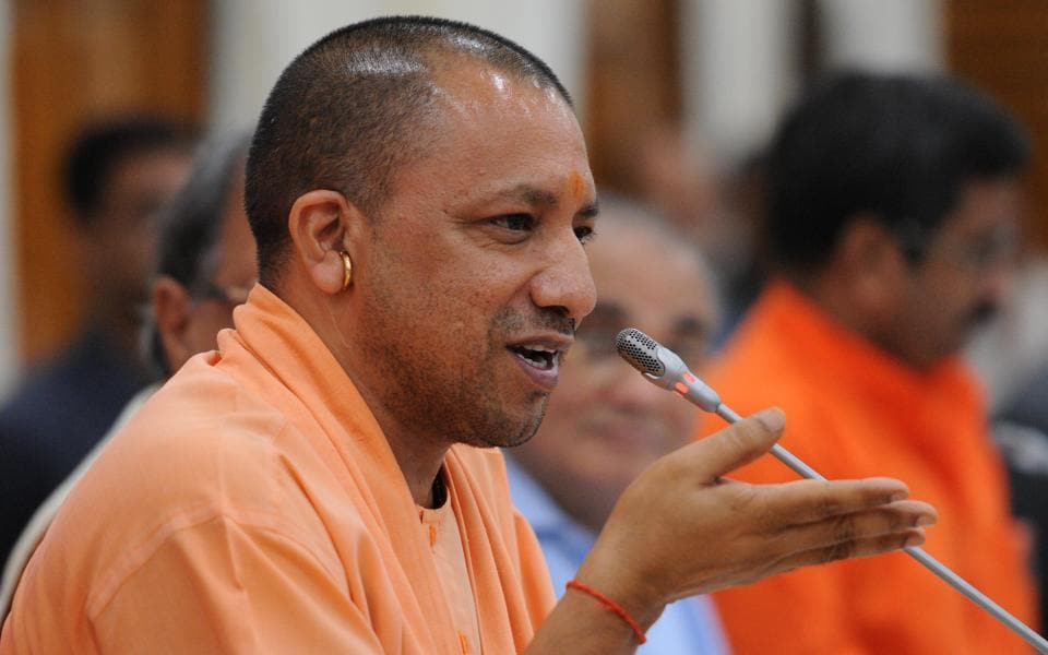 UP chief minister Yogi Adityanath suspended senior officials on charges of corruption.