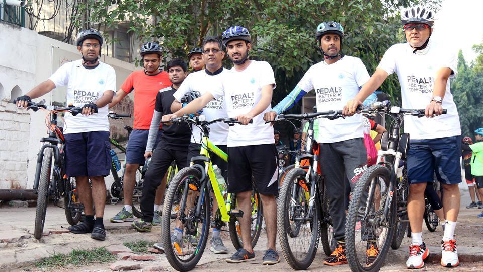 Saksham Pedal Delhi,Farhan Akhtar,Cycling Federation