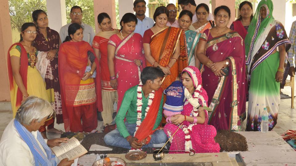 simple marriage india