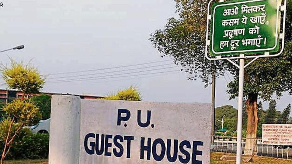 PUCSC president Jashan Kamboj says signboards should have all the three languages on the PU campus.