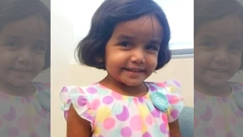 Texas toddler,3-year-old Indian girl,Indian girl murdered in US