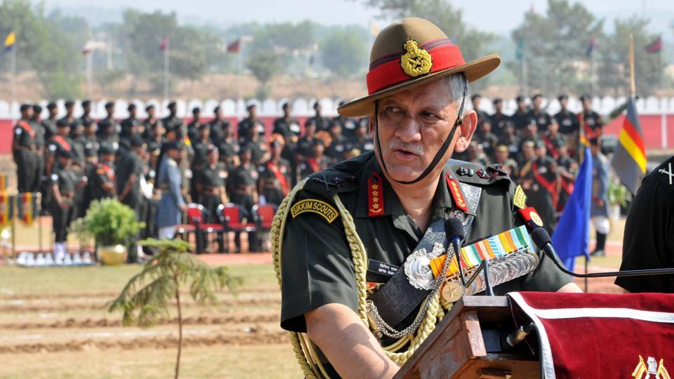 Appointment of Kashmir interlocutor will not affect army operations: General Rawat