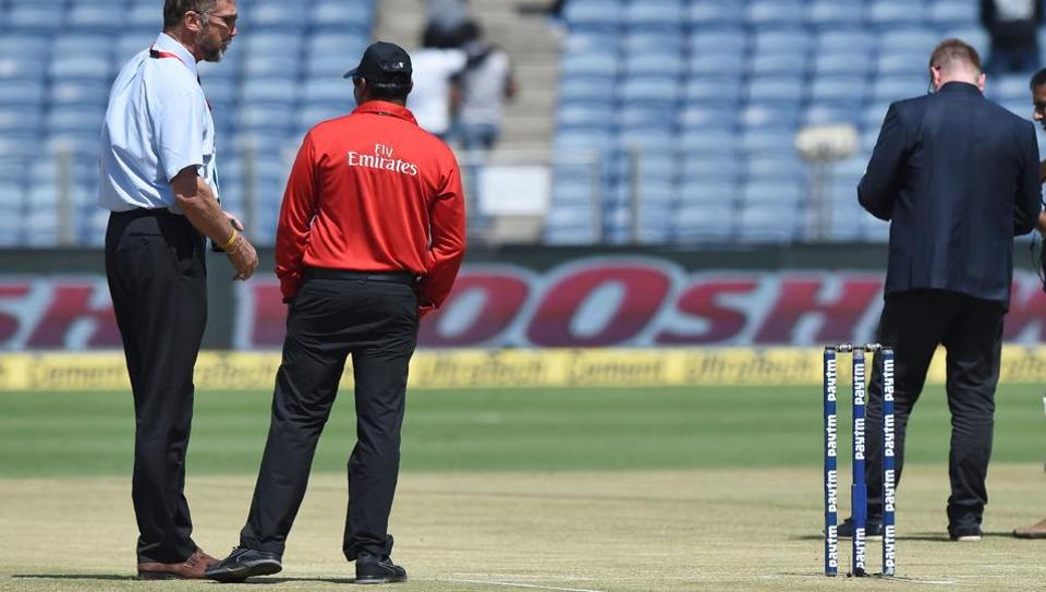 The Pune pitch came under scrutiny ahead of the India vs New Zealand second cricket ODI.