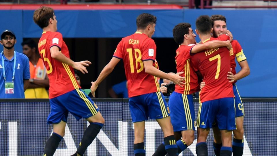 Spain have been in prolific form at the FIFA U-17 World Cup since losing their opening game to Brazil.