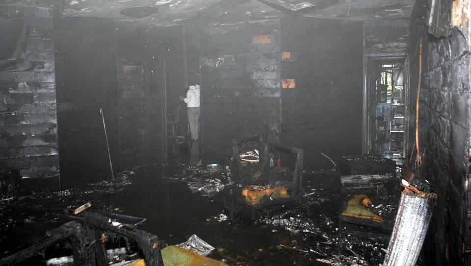 According to GDA officials no vital records were lost as a result of the fire.