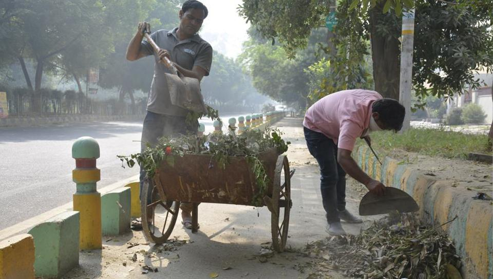 Most private waste collection agents come and collect garbage from each flat for ₹50 per month.
