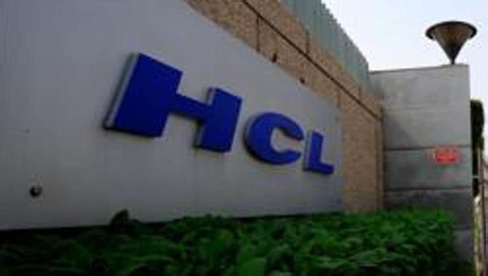 A view of the HCL Technologies Ltd office in Noida.