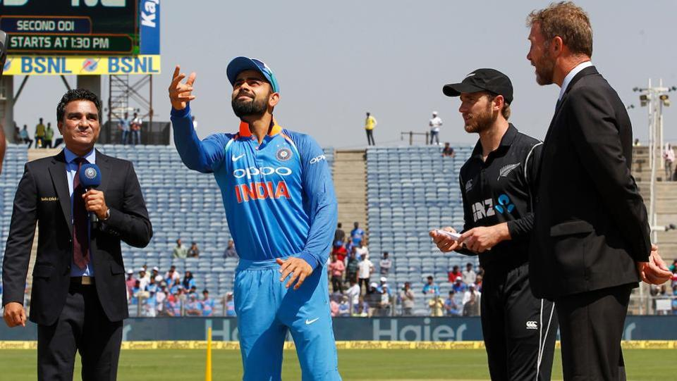 New Zealand, who were leading the series 1-0, won the toss and opted to bat against India. (BCCI)