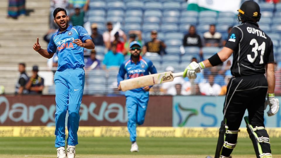 However, New Zealand's decision to bat did not turn out as they expected as they kept losing wickets at regular intervals. (BCCI)