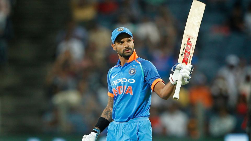 In the end, Shikhar Dhawan scored 68 runs which turned out to be the highest individual score of the match. (BCCI)