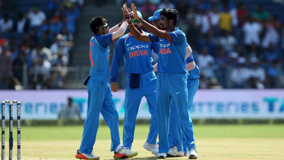 Jasprit Bumrah also struck for India, picking up two wickets. (BCCI)