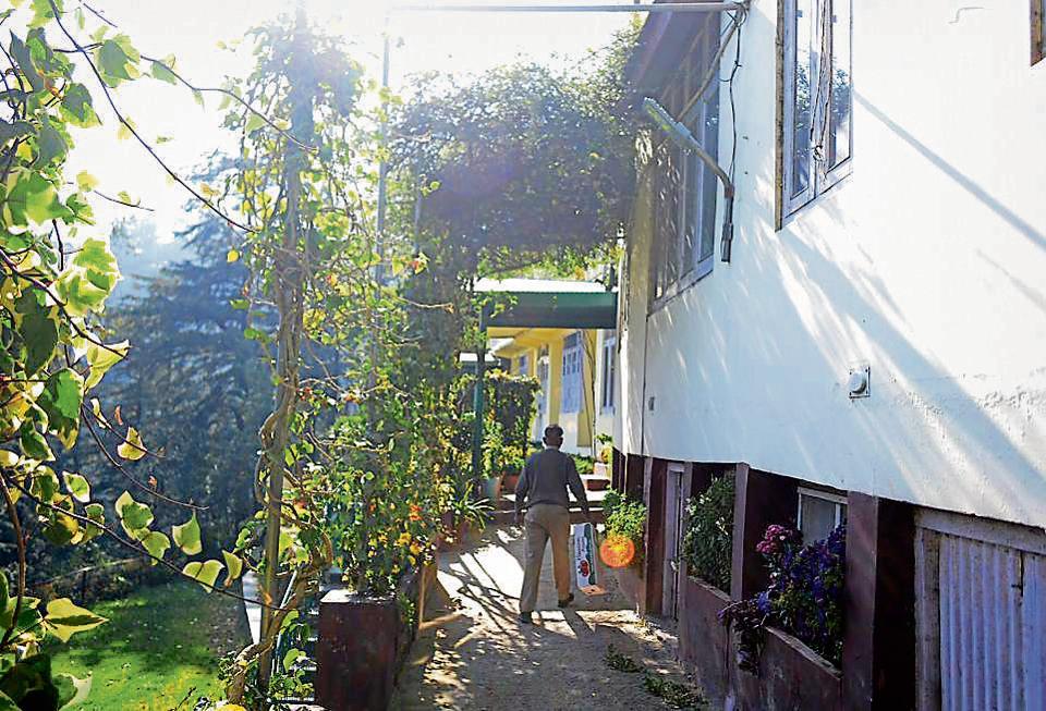 SCongress leader Vidya Stokes' residence  Bumia Estate in Shimla.
