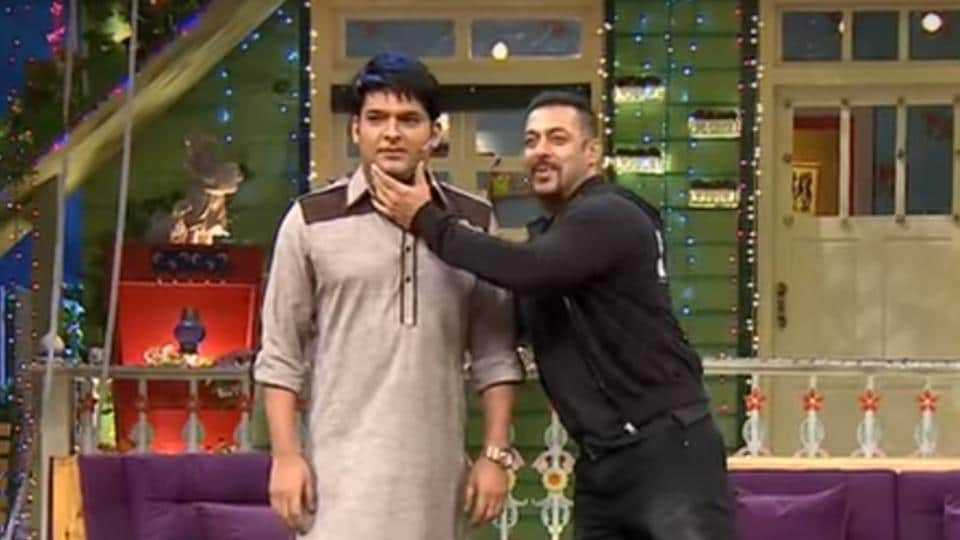 When Salman Khan appeared on Kapil Sharma's show to promote his film, Kick.
