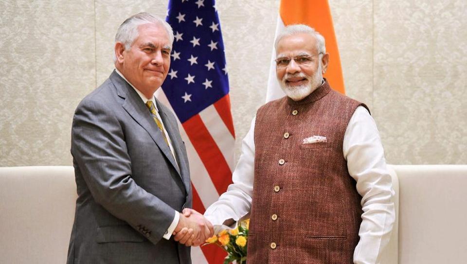 Rex Tillerson,Rex Tillerson in India,Rex Tillerson Sushma Swaraj meeting