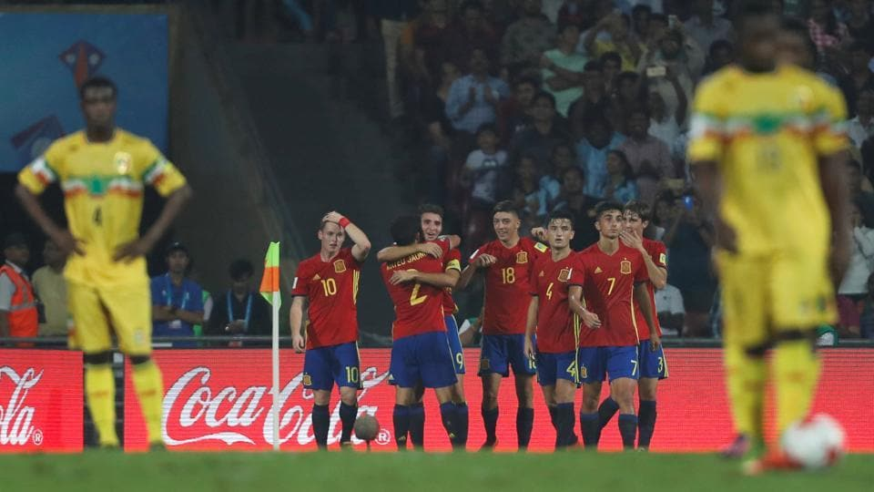 Spain will take on England in the final.  (REUTERS)