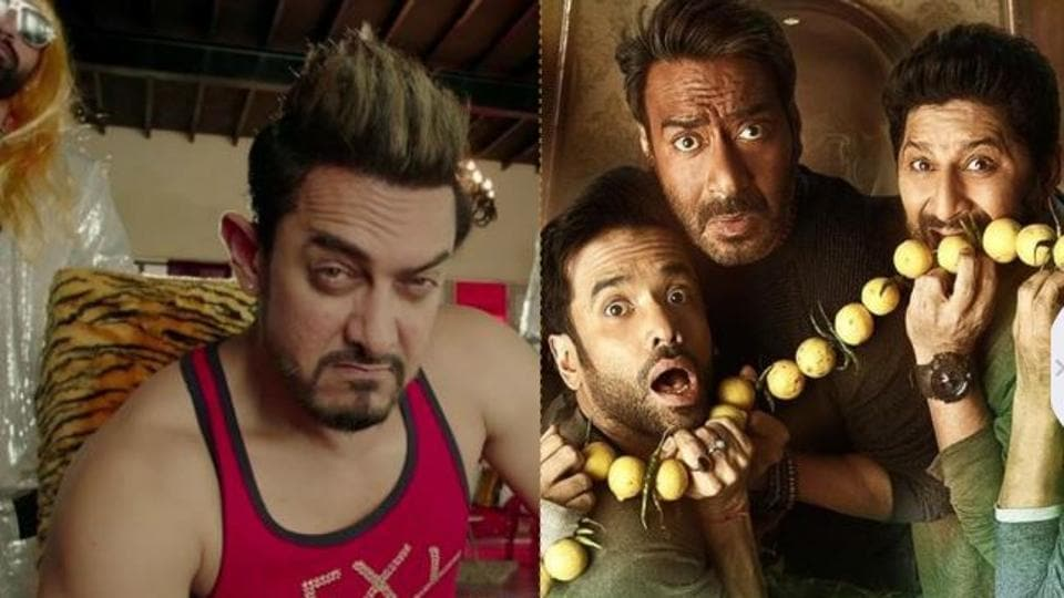 While Secret Superstar released on Diwali, Golmaal Again hit theatres a day after on Friday.