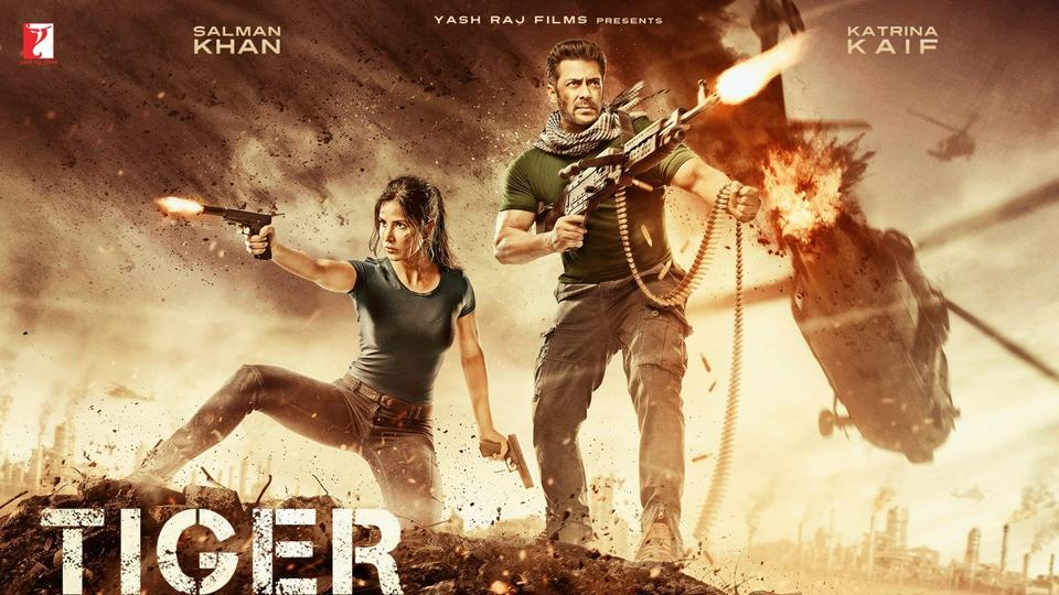 Tiger Zinda Hai poster out: Salman Khan and Katrina Kaif look deadly