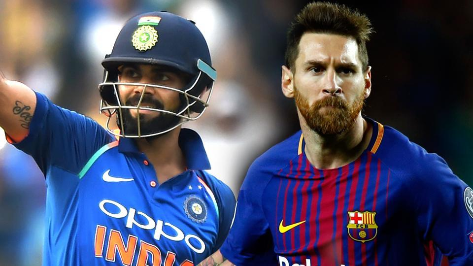 Virat Kohli ahead of Lionel Messi in Forbes' top 10 brands