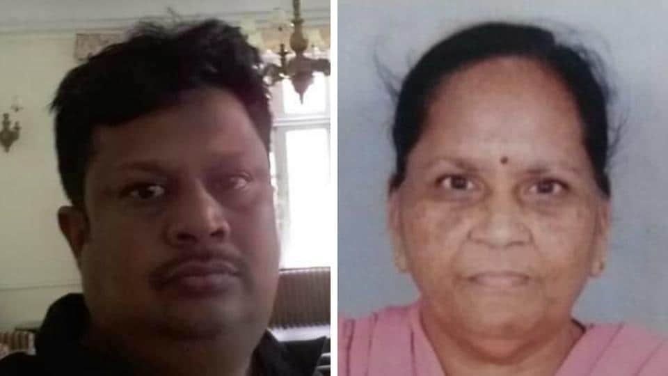 shopkeeper shot dead,Nabha,mother dies of shock