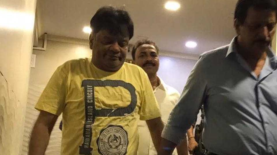 Mumbai,Iqbal Kaskar,extortion
