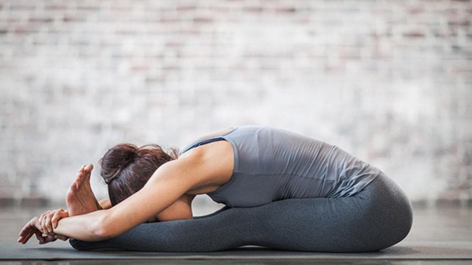 Close to meditation, yin yoga is a slow and gentle stress-busting activity that's a great for winter.