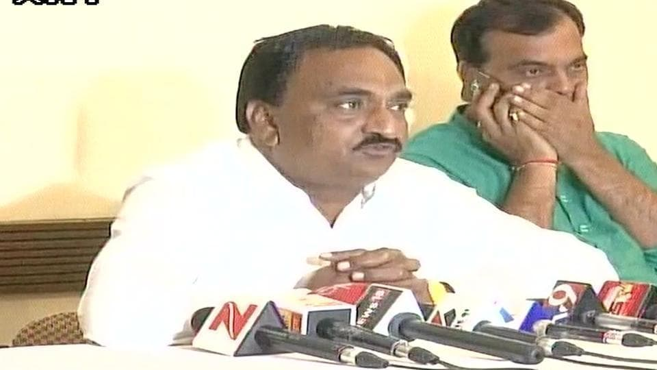 Narendra Patel claimed that the BJP offered him Rs 1 crore to join the party.(ANI Photo)