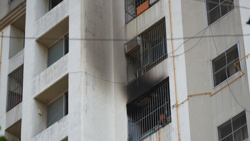 An official from H-West ward said instead of initiating action, a team of civic officials from the ward visited the fire brigade on Wednesday to understand the gravity of the situation.