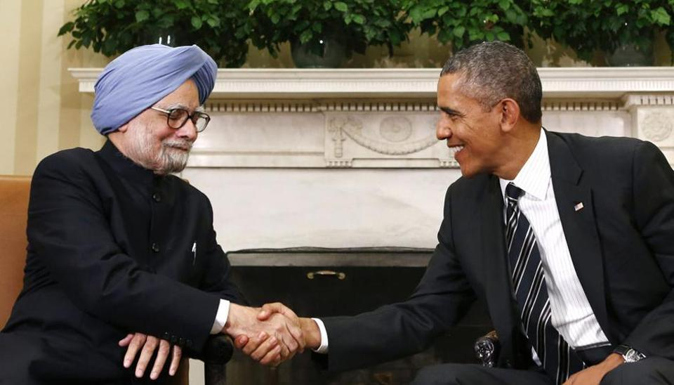 The India-US nuclear cooperation agreement was signed in October 2008.