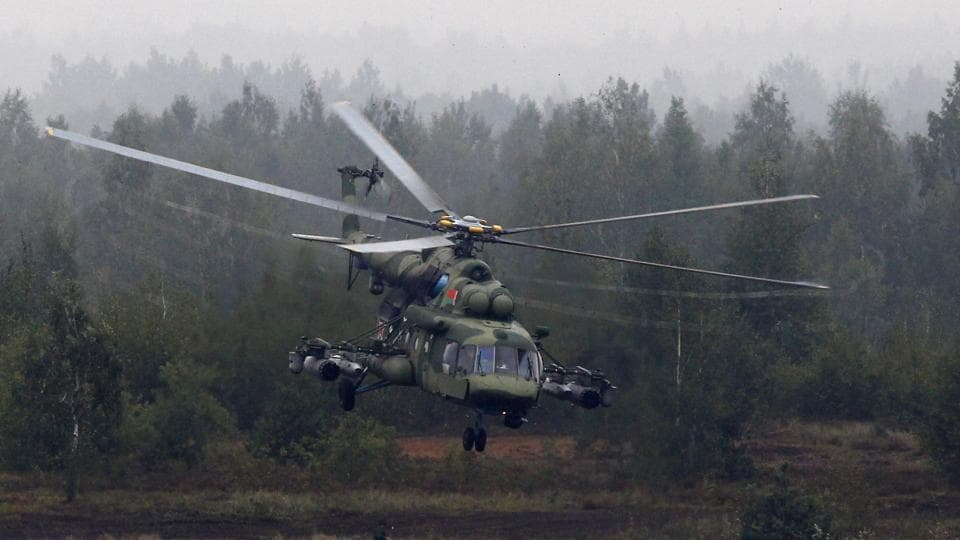 Russian chopper 'with 8 on board' down at sea - Norway rescue service