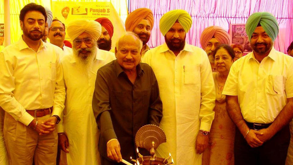 Punjab health minister Brahm Mohindra inaugurating the project at government rehabilitation centre in Moga on Thursday.