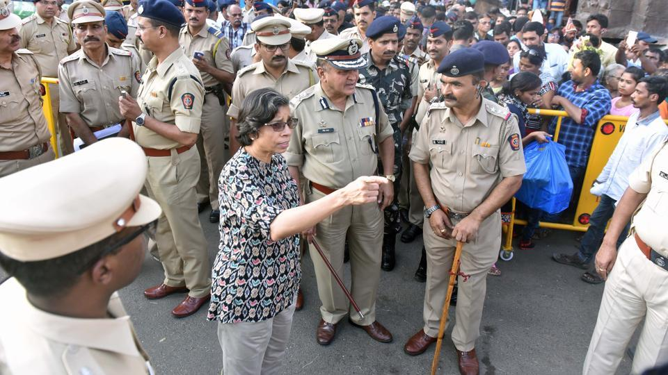 The city police leadership changed hands in 2016 when Rashmi Shukla took over from Satish Mathur, who was appointed as the Director General of Police (DGP) of Maharashtra police.