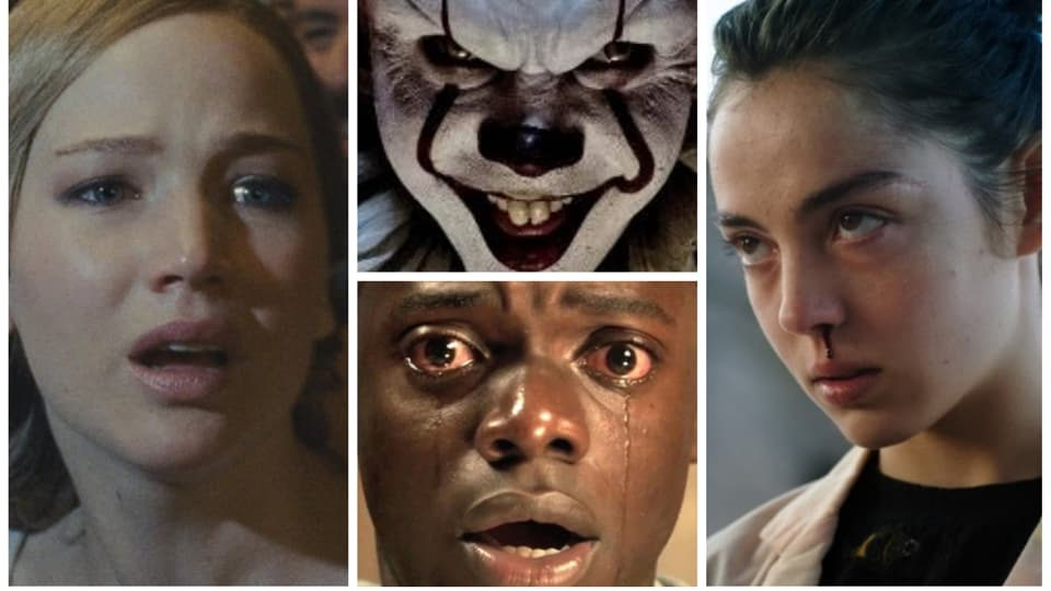 From crazy clowns and cannibal teens to child psychopaths and murderous girls next door: Here are the top 13 horror movies of 2017.