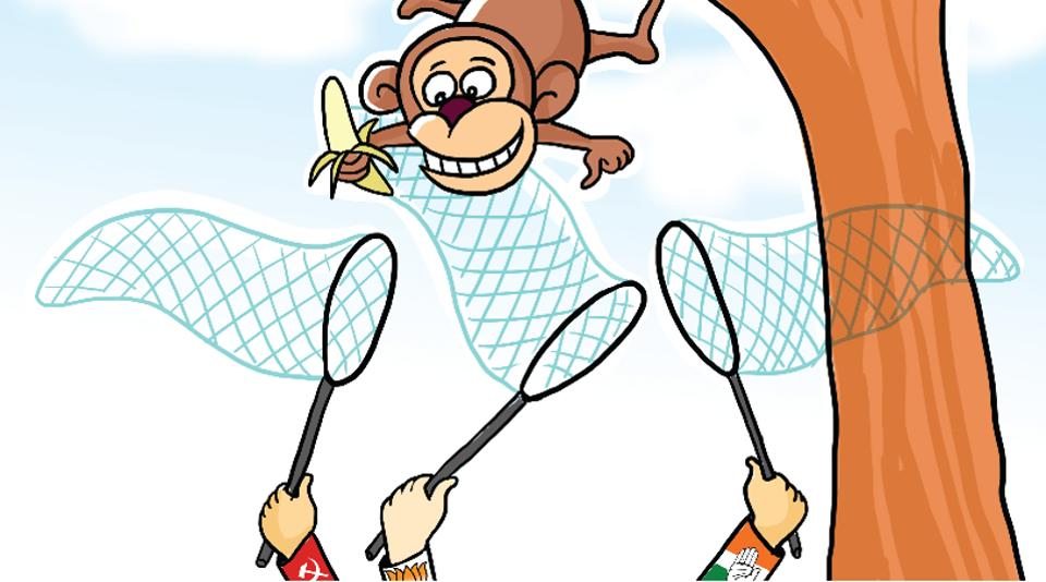 Himachal polls-2017,Monkey menace,poll issue