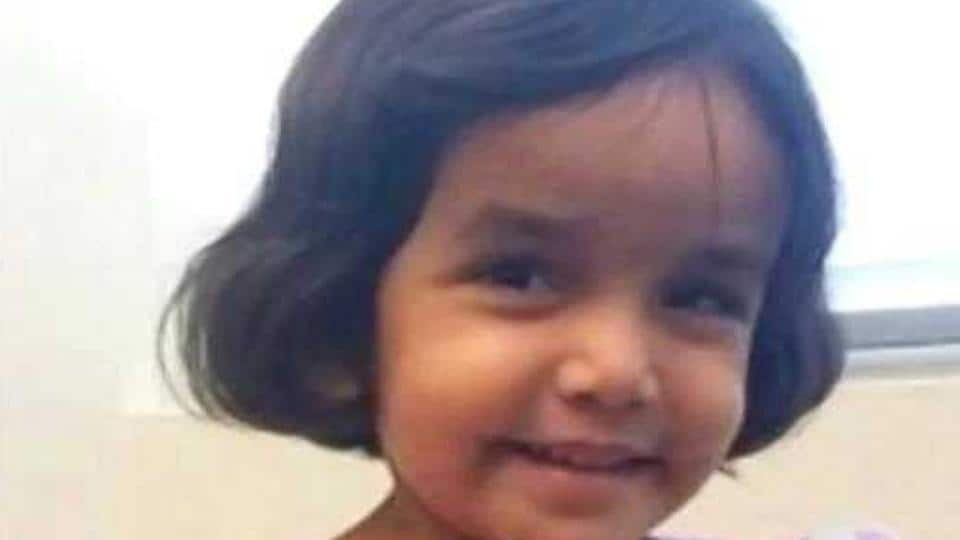 Three-year-old Sherin Mathews went missing on October 7 and her body was found on Sunday from a culvert in suburban Dallas, Texas.