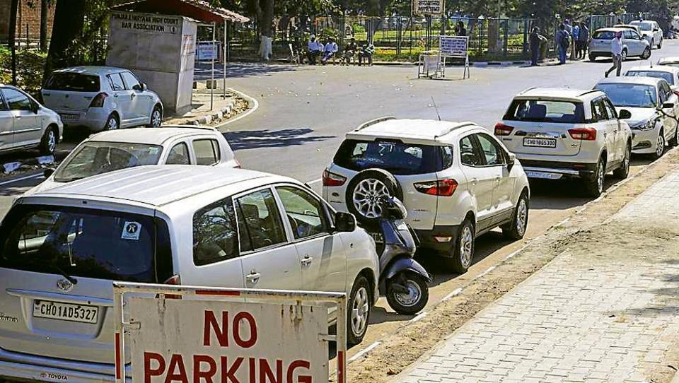 Municipal Corporation Chandigarh,Smart parking project,chandigarh