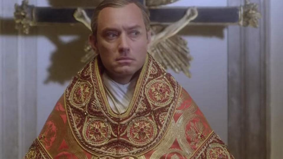 Jude Law is magnetic as the Young Pope.