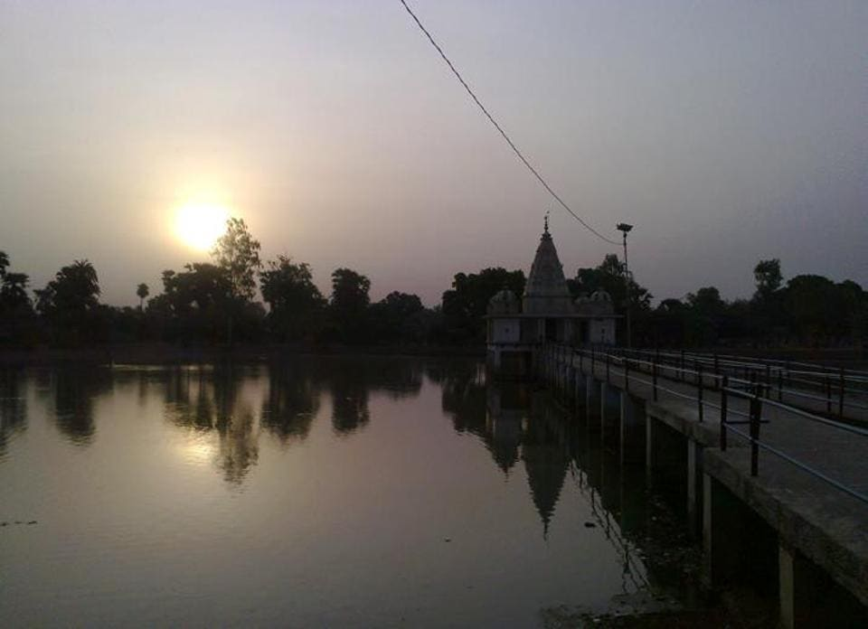 The famous Sun temple at Belaur in Bihar's Bhojpur district,  a popular spot for Chhath celebration.