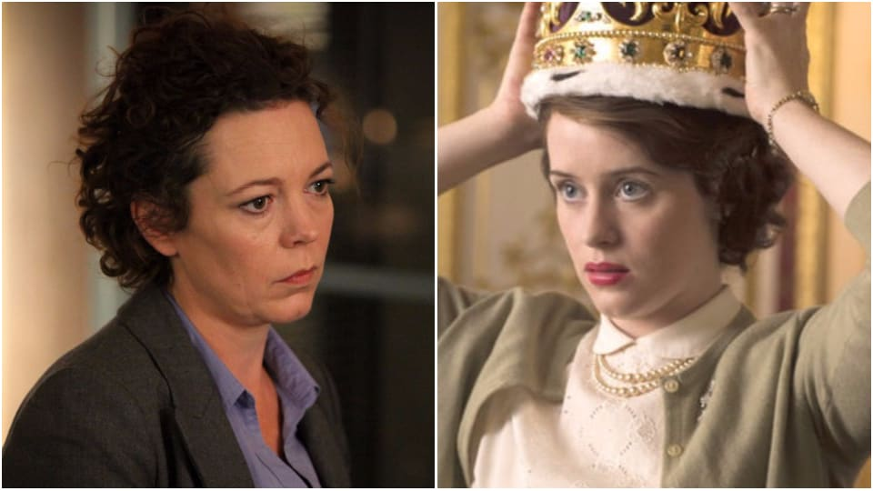 Olivia Colman,Claire Foy,The Crown