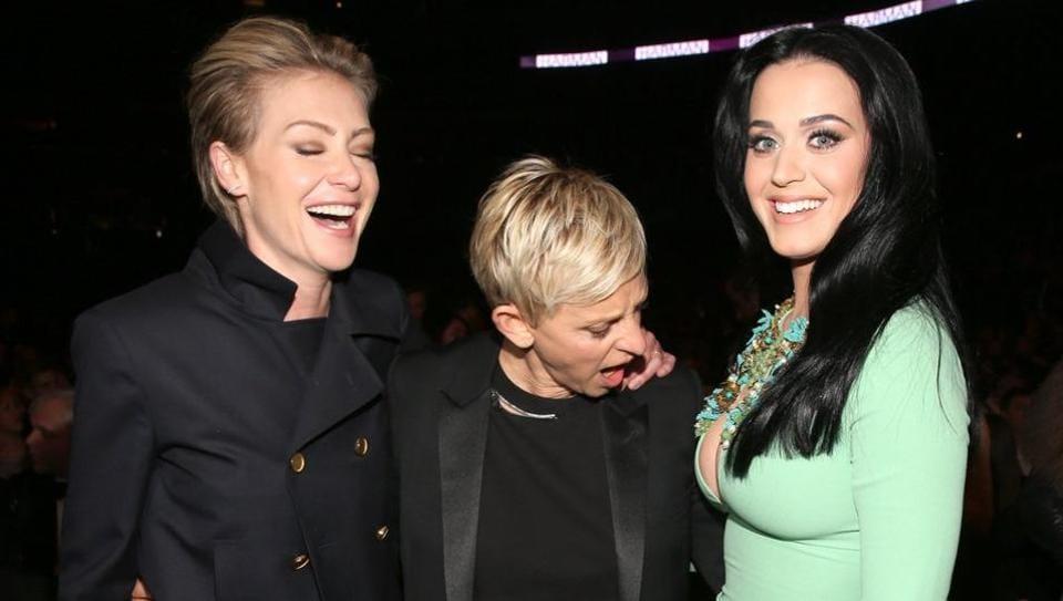 Ellen Degeneres,Katy Perry,Ellen DeGeneres Katy Perry